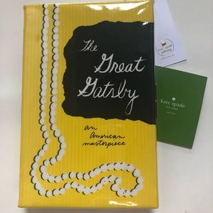 KATE SPADE - The Great Gatsby Book Clutch